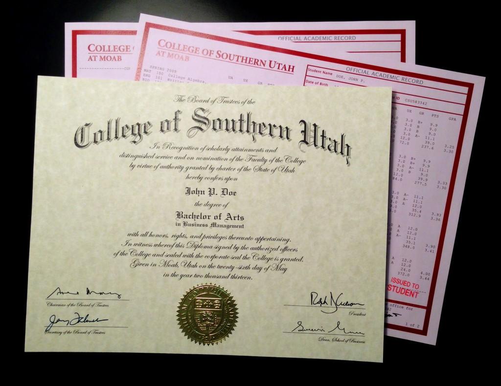 do fake diplomas really work